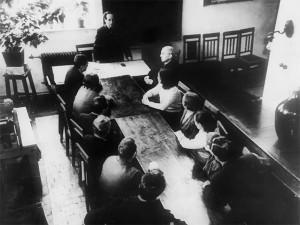 Засідання кафедри ЗХТ, ПА (1950-1960)