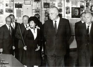 01 Щербицький В В у музеї вересень 1985 р