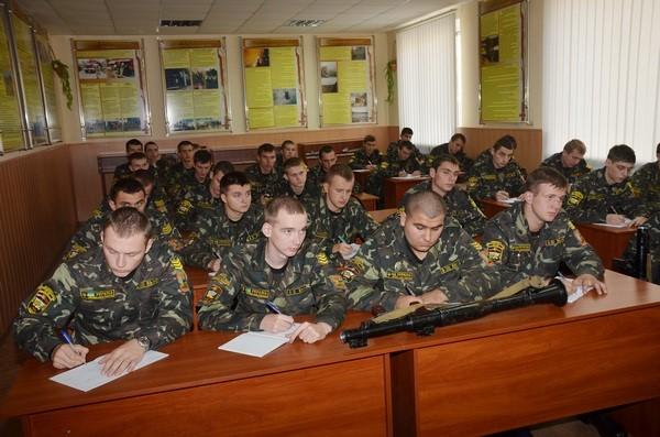 Лекция на военке ХПИ Харьков