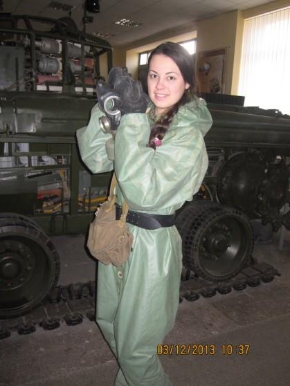 Практическое занятие на военной кафедре НТУ ХПИ