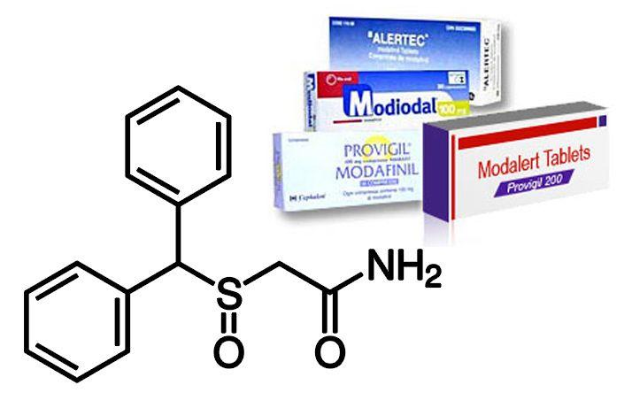 Стимулятор мозговой активности модафинил