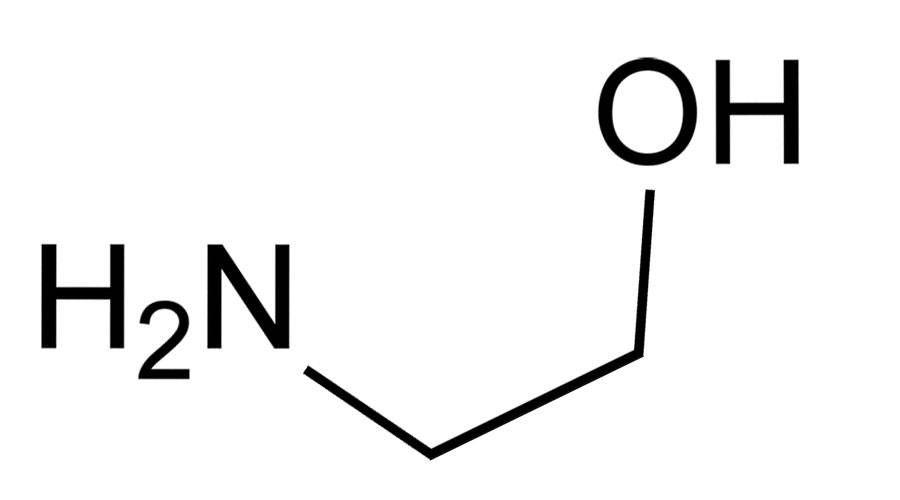 Стойкая краска для волос - этаноламин