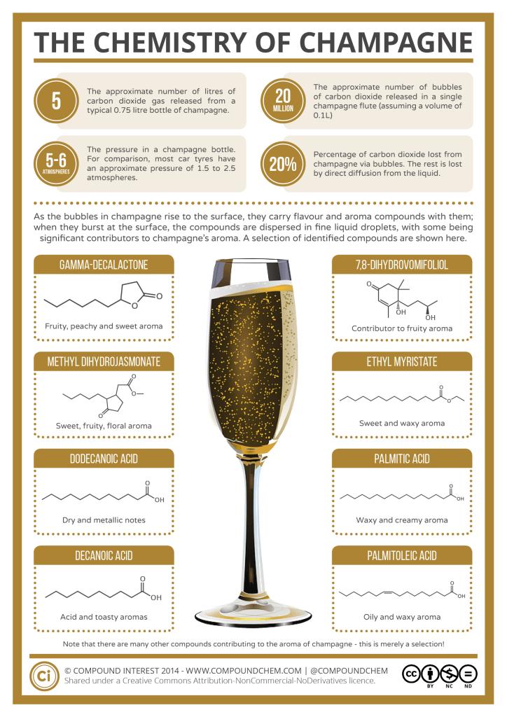 Химический состав шампанского
