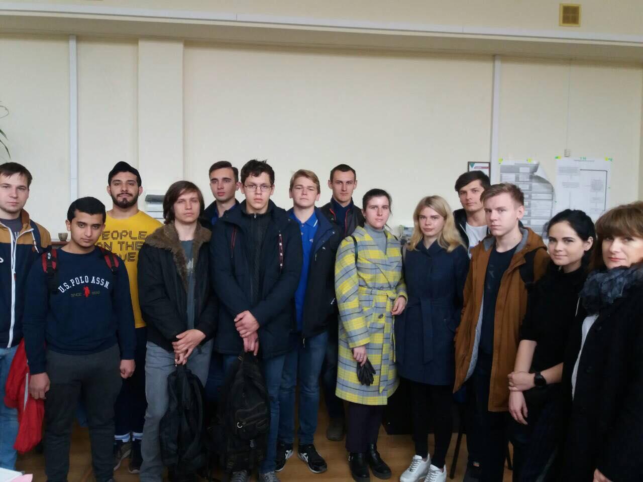 Виробнича екскурсія для студентів