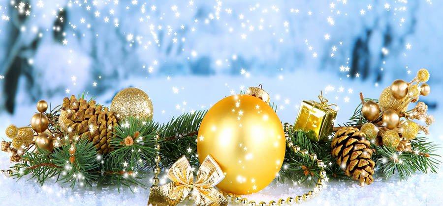 Поздравляем с Новым годом и Рождеством!