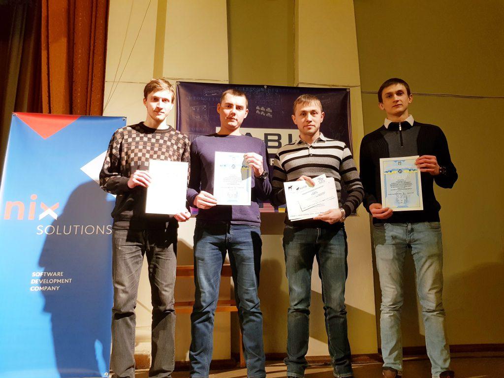 Студенты НТУ «ХПИ» — призёры Всеукраинской студенческой олимпиады по «Радиотехнике» ВСОРТ-2018
