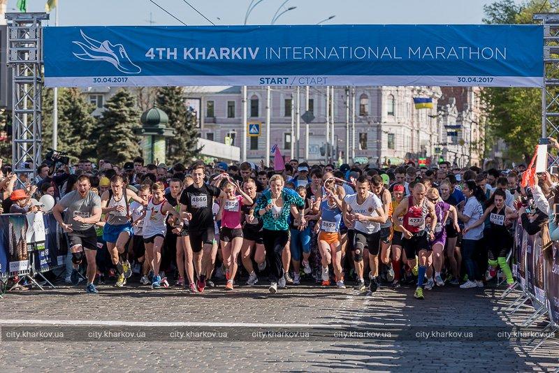 На пьедестале Харьковского Международного марафона студенты «Политеха»