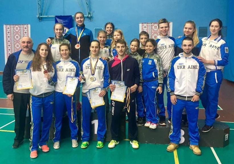 Кубок Украины по бадминтону 2017