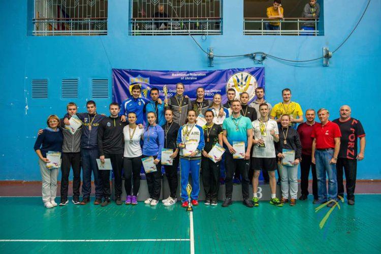 Чемпионат Украины по бадминтону