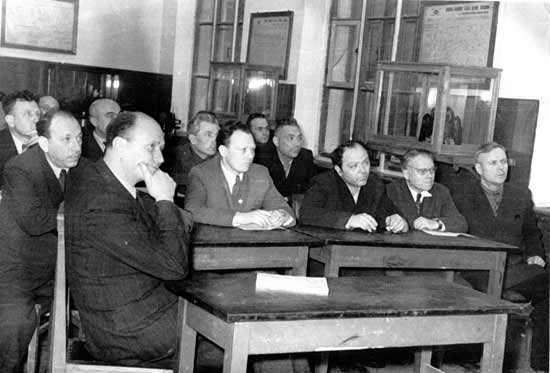 Заседание Харьковского семинара по теории механизмов и машин