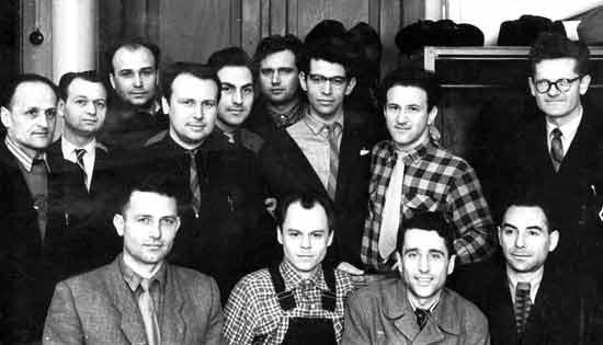 Коллектив кафедры ТММ в 1963 г.