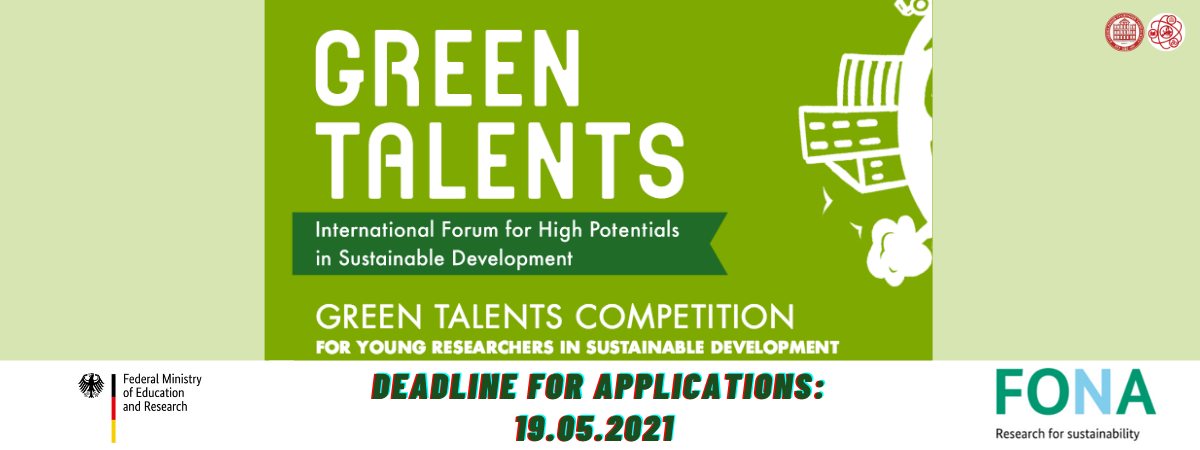 Call for Applications: Green Talents – International Forum for High Potentials in Sustainable Development
