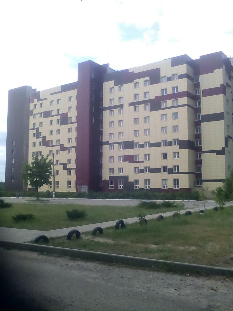 Общежитие.Фасад