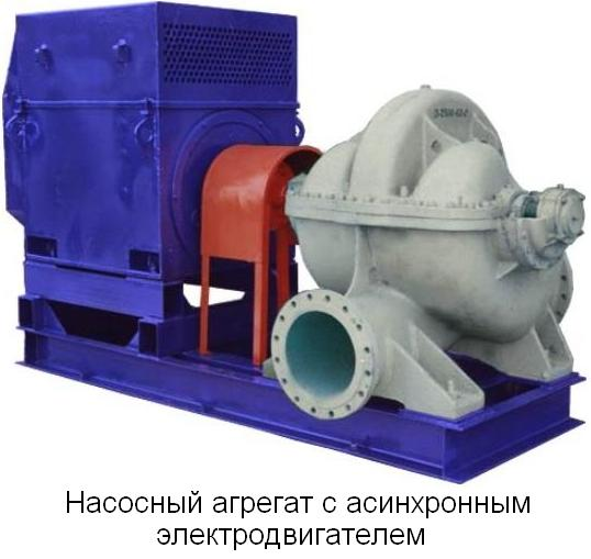 Электродвигатель насосный