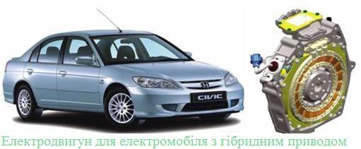 Електродвигун для автомобіля-2