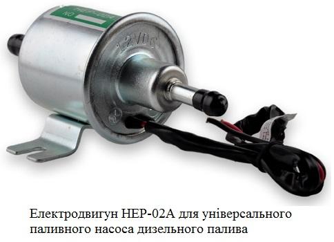 Електродвигун для насосів