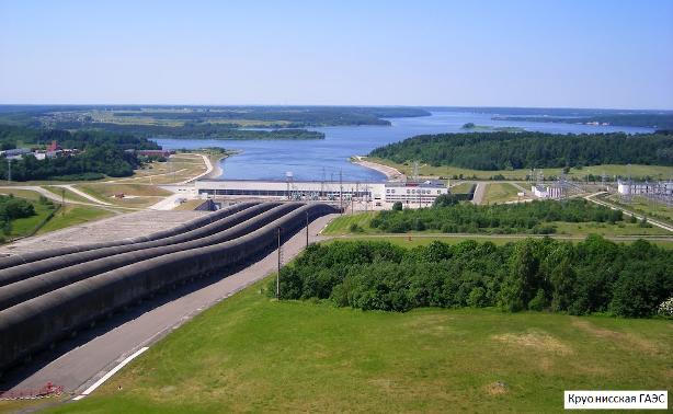 Гидроаккумулирующая электростанция – днем синхронные машины работают генераторами, а ночью – двигателями, закачивая воду в резервуар на возвышенности
