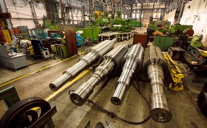 Обработанные сердечники ротора в цеху предприятия-изготовителя