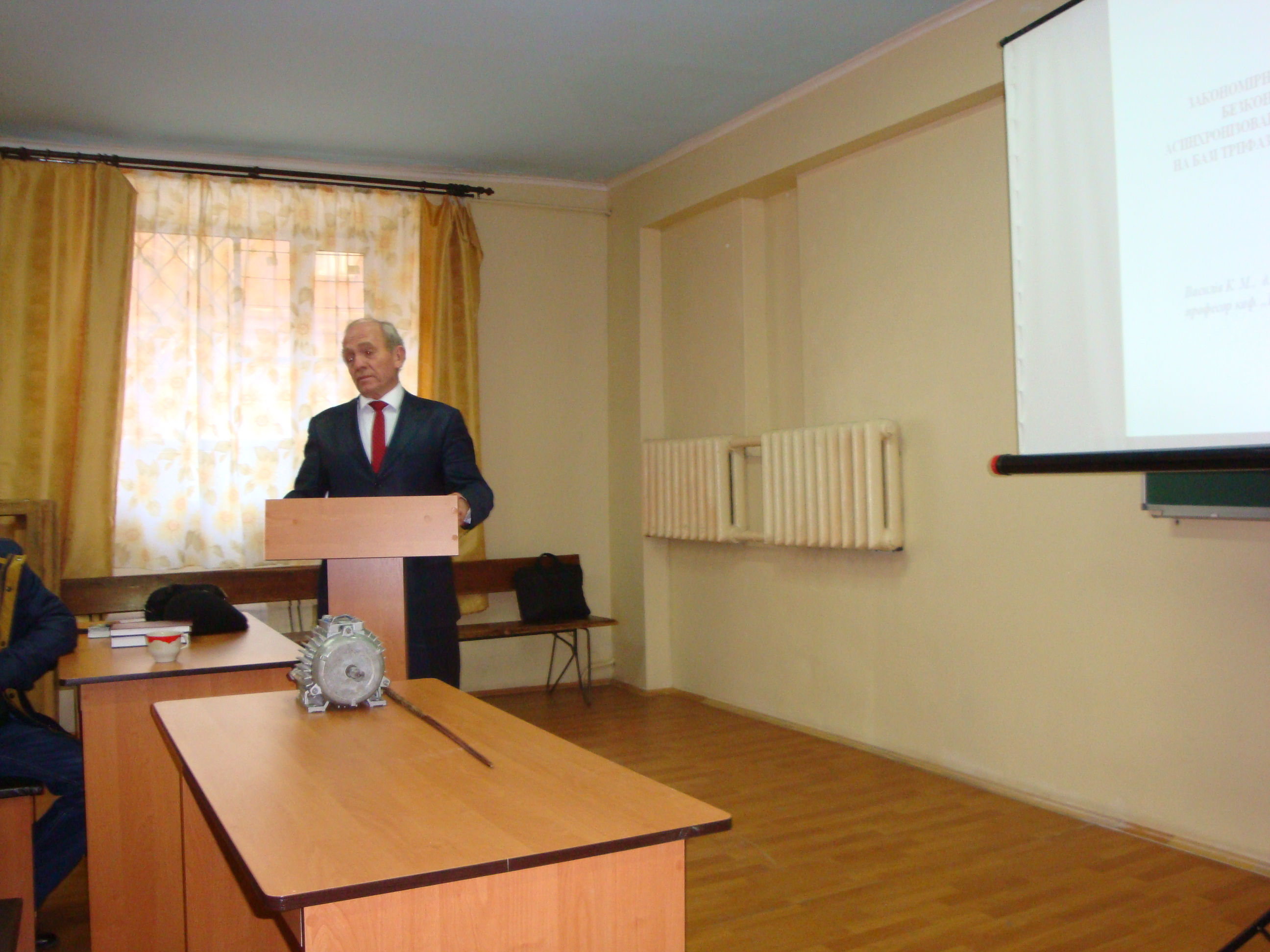 Проф. Василив К.Н. (НУ «Львовская политехника», Львов)