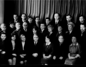 Колектив кафедри ЗХТ, ПА (1969)