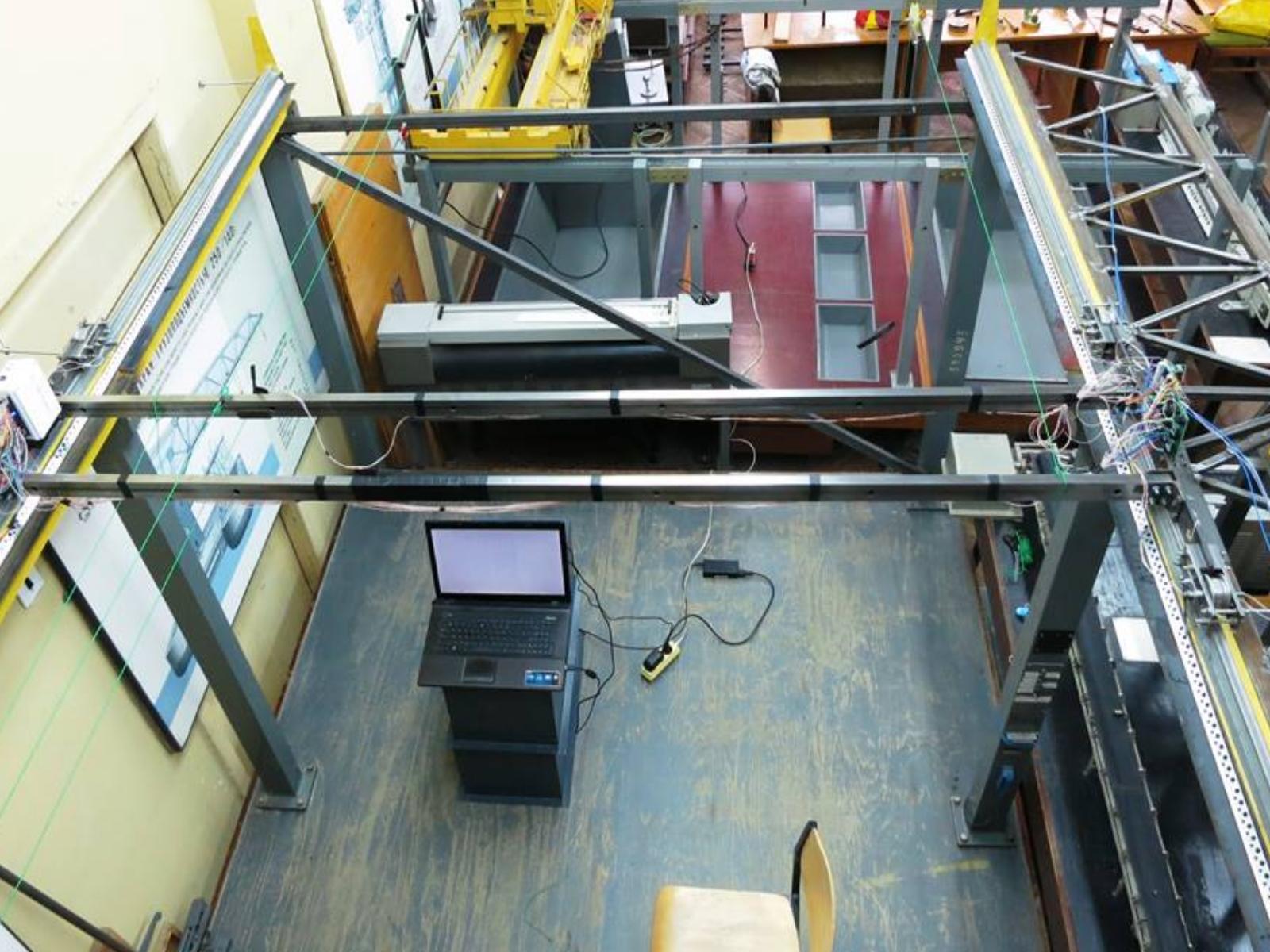 В лаборатории кафедры ПТМ