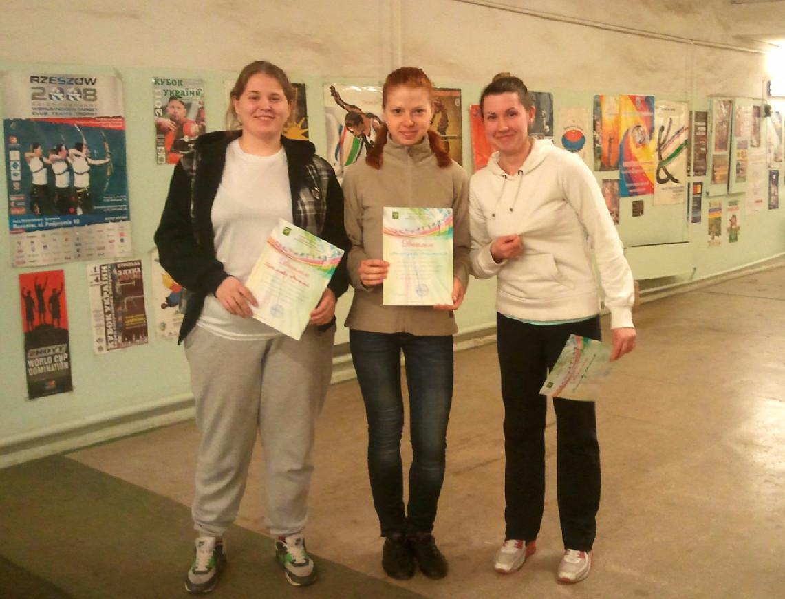 Открытый Чемпионат города Харькова по стрельбе из лука среди молодежи