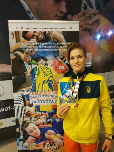 Чемпионат Мира по пара-армрестлингу