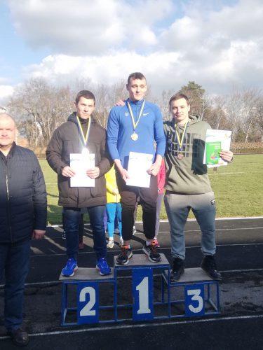 Чемпионат Украины по легкоатлетическим метаниям