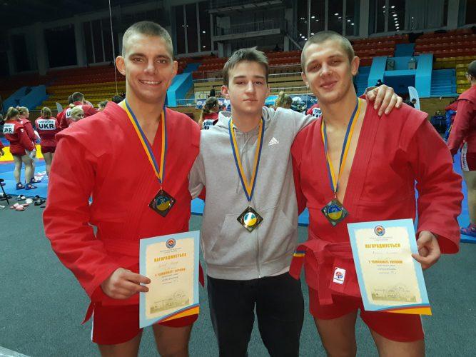 Чемпионат Украины по самбо среди юниоров