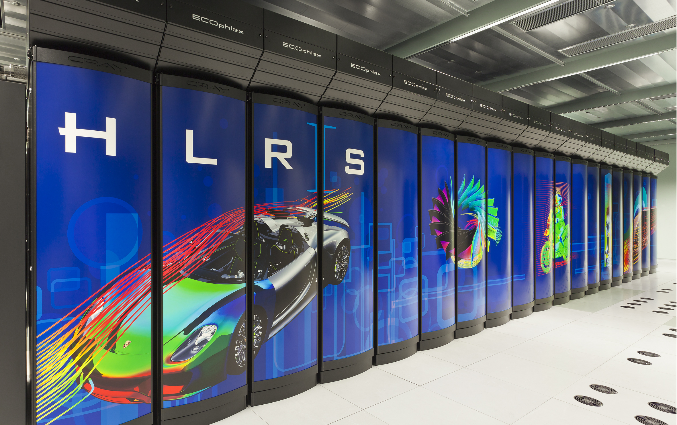 Cray-Supercomputer am HLRS